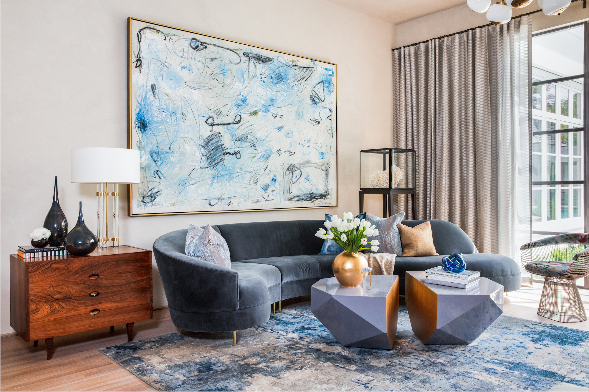 modern artwork and accessories-interior design firm Carlton Edwards