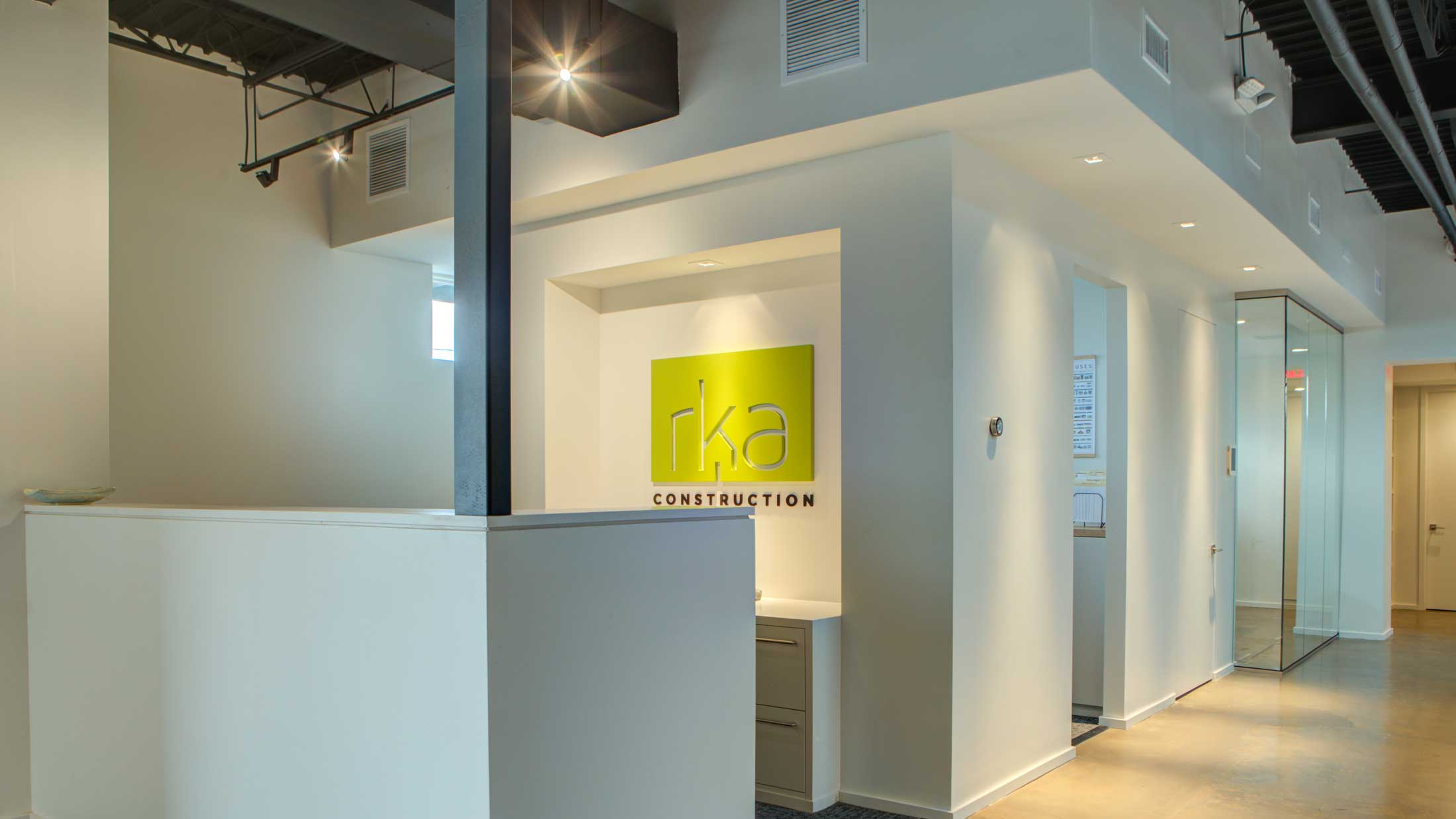 Memphis office space designed by Carlton Edwards