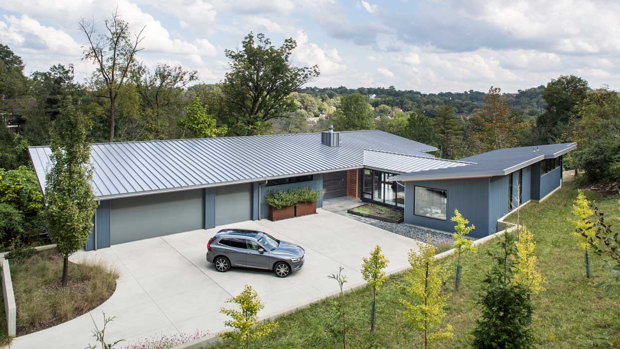 LEED Platinum-green architecture designed by Carlton Edwards