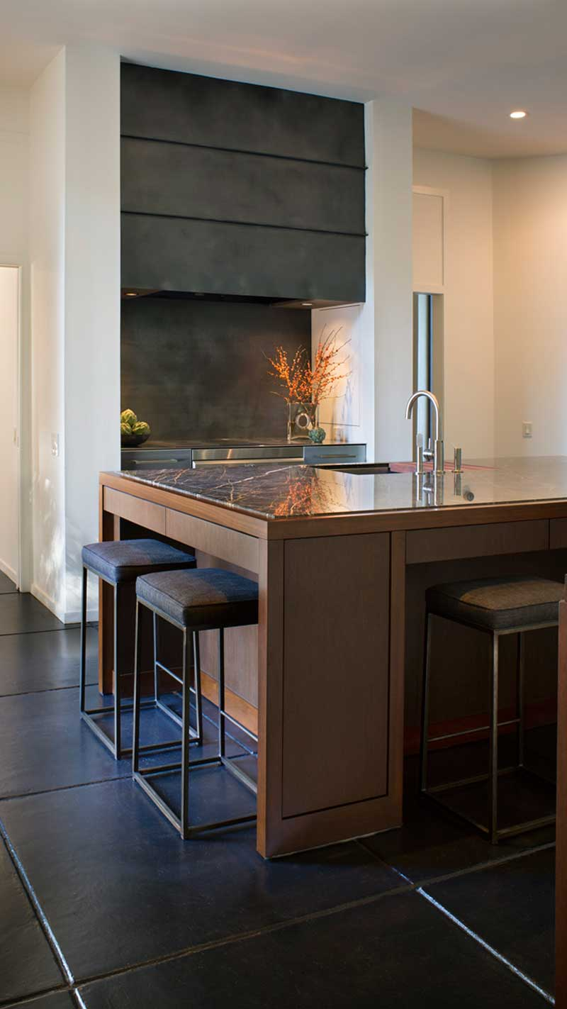 modern kitchen renovation ideas-marble counter tops-Memphis architects