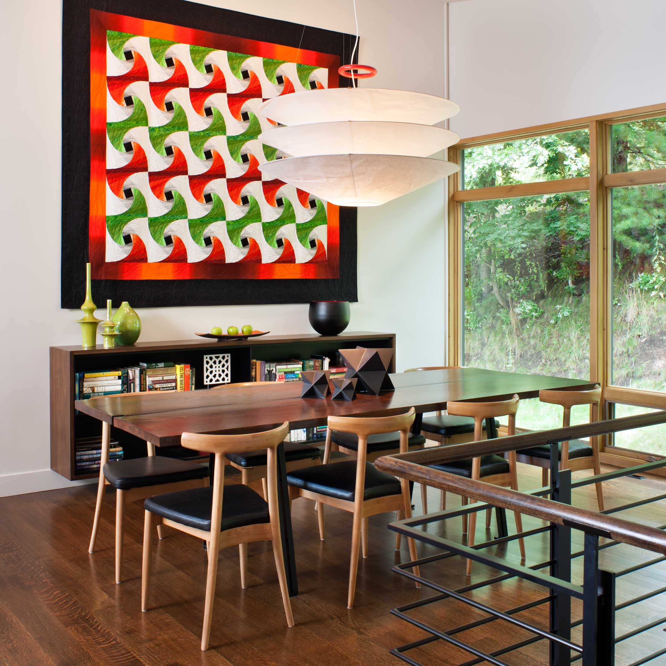 Modern art-dining area with modern architecture for remodel