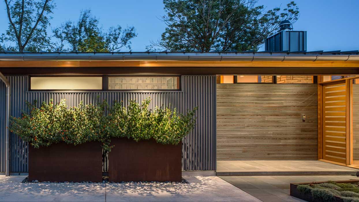 outdoor exterior modern home