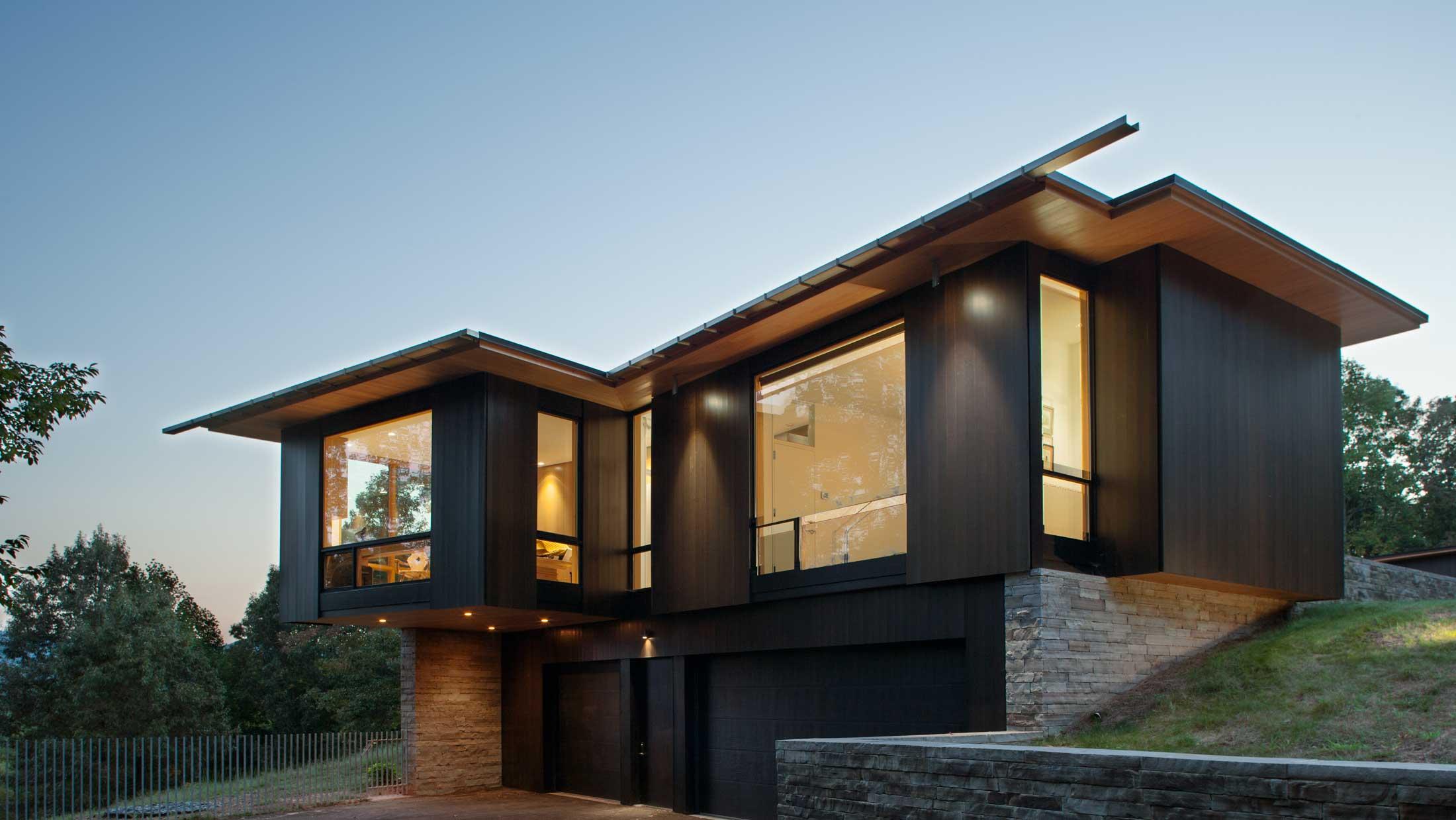 garage design in modern home
