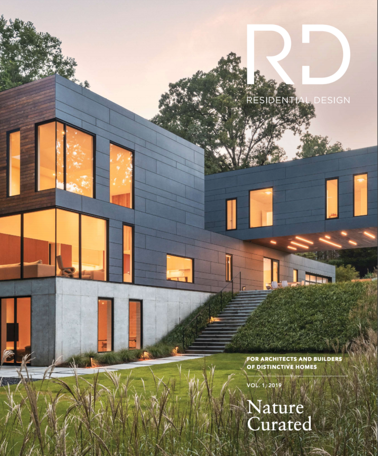 residential design magazine cover