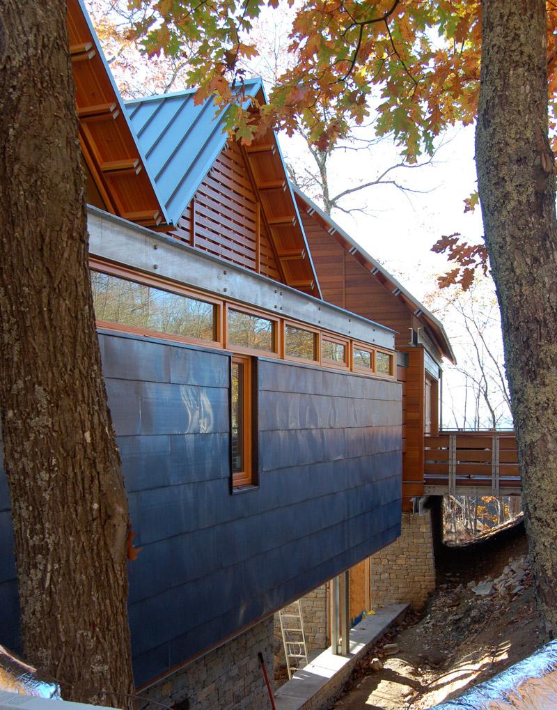 modern architecture-siding