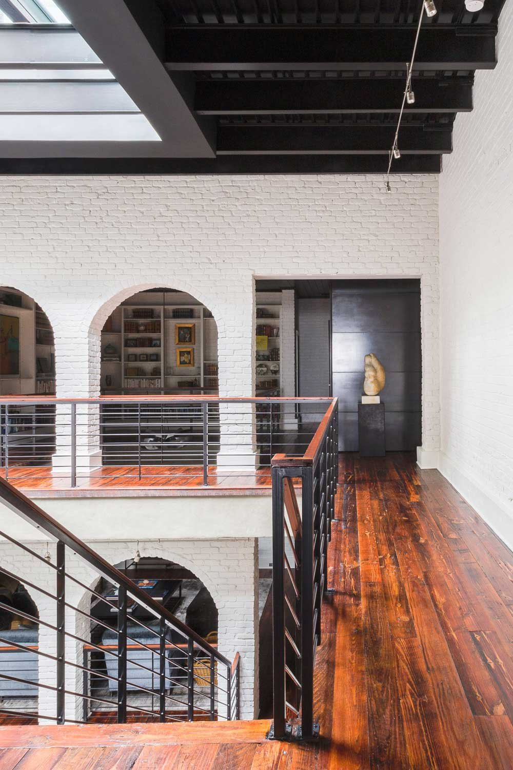 heart of pine flooring in historic renovated apartment-downtown Memphis